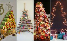 4 ideas geniales para hacer un pino navideñó