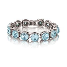 Color Code Aqua Bracelet #borntowearcandi @wearcandi I love aqua color jewelry. It will go great with my favorite blue dress.