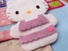 Hello Kitty quiet book page