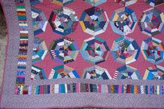 String Spiderweb!!       (Click here  for printer friendy version)                       String quilts are one of my favorite methods of scr...