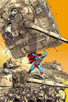 Adventures of Superman #590 by Michael Golden