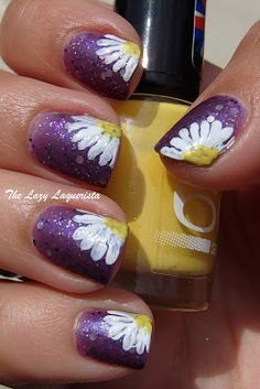 Daisy Nail Art Tutorial