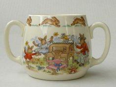 Royal Doulton Bunnykins Hug A Mug por AuntMartha en Etsy, $27.00