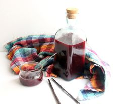 Raspberry Blackberry Vanilla Syrup