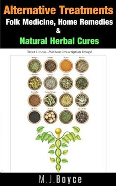 Alternative Treatments - Folk Medicine, Home Remedies & Natural Herbal Cures by M.J. Boyce, http://www.amazon.com/dp/B00FO8Z3C8/ref=cm_sw_r_pi_dp_WUSvsb0STKAXR