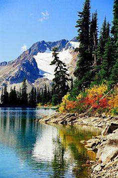 Rhor lake, Whistler, Canada
