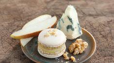Macarons Pikante Füllung Birne Roquefort