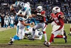 Panthers, Led by Flashy Cam Newton, Swamp Flailing Cardinals - The New York Times