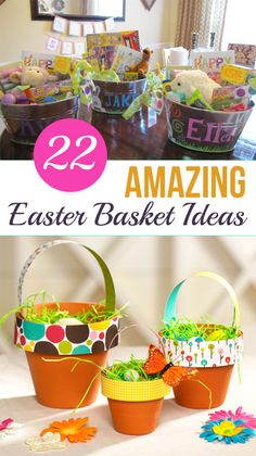 22 Amazing Easter Basket Ideas