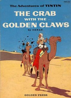 Tintin, The Crab with the Golden Claws, Herge