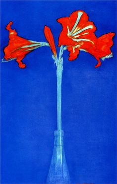 Piet Mondrian - Amaryllis, 1910