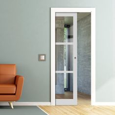 All pocket cassettes may be kerbside delivery only and not in to the home. doors are delivered separately. All doors can slide open left or right, you decide when installing them, delivery will be from two separate suppliers. Pocket Door Frame, Pocket Doors, The Doors, Panel Doors, Door Fittings, Flush Doors, Architrave, Aluminium Doors, Wall Spaces