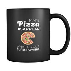 Pizza 11 oz. Mug. Pizza funny gift idea.