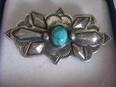 Brosche mit Stein,Gestempelt Sterlingsilber 925,Herkunft Mexiko 1964 mit Box von AbrahamsTroedelShop auf Etsy
