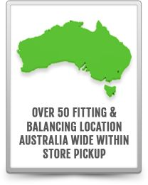 50+ Fitting and Balancing Location Australia-wide