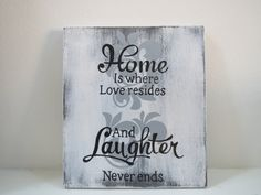 Decorative Sign/Home Decor/Wall Hangings/Home by CountrySettings