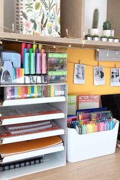 Types Of Study Room To Consider When you Need Your Special Work Place teenage room decor Study Room Design, Study Room Decor, Cute Room Decor, Study Rooms, Bedroom Decor, Bedroom Furniture, Teenage Room Decor, Stationary Organization, Study Table Organization