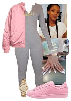 """""""I like this❤️"""" by fashionismypashion476589 ❤ liked on Polyvore featuring adidas and Michael Kors"""