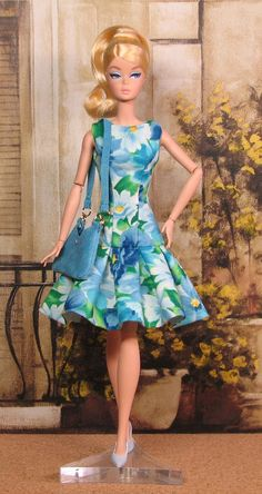 OOAK Handmade Spring Time Dress for Silkstone