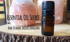 How to Make Thieves/OnGuard Essential Oil Blend