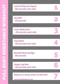 Try this low-impact cardio/strenght-training at home easy workout today! Perfect for starting your weight loss journey. #workout #fitness #weightloss #lowimpact #cardio #athomeworkout Side Workouts, Easy Workouts, At Home Workouts, Strenght Training, Resistance Workout, Glute Bridge, Fitness Weightloss, Workout Fitness, Weight Loss Journey