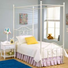 Used Canopy Bed chandler bed - jcpenney. i've been looking for this style forever