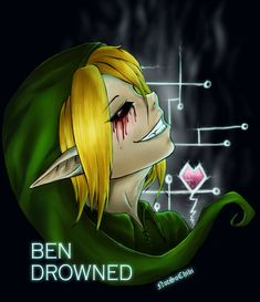Ben Drowned by NotSoChibi on DeviantArt Ben Drowned, Creepypasta Proxy, Creepypasta Cute, Jeff The Killer, Scary Stories, Horror Stories, K Pop, Creepy Pasta Family, Dhmis