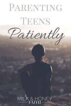 Parenting teens is no easy matter. In fact it's one of the most difficult stages we go through as parents. Learn how to navigate this challenging stage by letting God lead the way. #teengirlparentingadvice