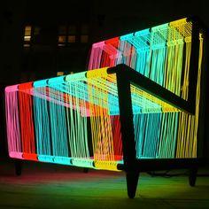 Disco Chair by Kiwi and Pom  KINDA AMAZINGLY AWESOME! ♥