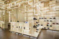 Tienda Camper en Milán / Kengo Kuma & Associates