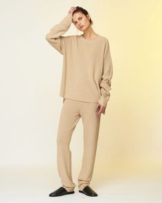 Charlie May Straw Knit Track Suit - Pho. London