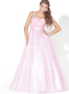 Ball Gown En-skulder Imperiet Midjeline Beadings Hjemkomst Kjoler Prom Dresses Long Pink, Prom Dress 2013, Prom Dresses Online, Homecoming Dresses, Pretty Dresses, Beautiful Dresses, Evening Dresses, Formal Dresses, Formal Prom