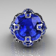 What Girl wouldn't LOVE a big Blue Diamond!