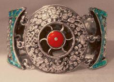 Nepalese Sun Bracelet  Personal Collection by SilkRoadJewelry