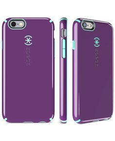Speck delivers bold color and on-the-go protection for your iPhone 6/6s with this durable phone case.   Polyvinyl chloride/polypropylene/thermoplastic elastomer   Clean with cleaning cloth   Imported