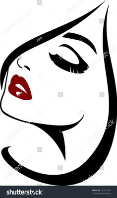 Find Beauty Face Icon Long Lashes Closeup stock images in HD and millions of other royalty-free stock photos, illustrations and vectors in the Shutterstock collection. Stencil Painting, Fabric Painting, Face Icon, Fantasy Paintings, Silhouette Art, Long Lashes, Art Drawings Sketches, Painted Rocks, Line Art