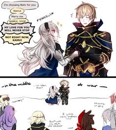 Fire Emblem: I Picked This Side Just for You by batensan on DeviantArt