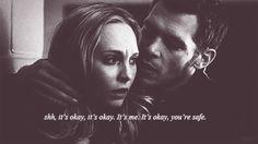 It's okay, it's me. It's okay, you're safe. <3 LOVED THIS!!<3