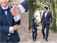 10. Hochzeitstag, Hochzeitsfeier, blauer Anzug, Vater, Sohn, Natur, Flora Köln, Foto: Violeta Pelivan