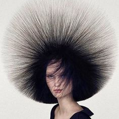It's electric via @miakaterussell #highhair #hair #lookoftheday #electrified #hairy #putyourhairup #hairstylist #photography #moodoftheday  via TUSH MAGAZINE OFFICIAL INSTAGRAM - Celebrity  Fashion  Haute Couture  Advertising  Culture  Beauty  Editorial Photography  Magazine Covers  Supermodels  Runway Models