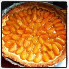 Apricot Summer Pie: Recipe for Apricot Summer Pie – Marmiton Apricot Tart, Summer Pie, Cook N, Gluten, Fall Desserts, What To Cook, Culinary Arts, Apple Pie, Easy Meals