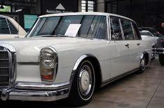 Mercedes 600 papyrus white
