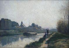 Stanislas Lepine, Pont de la Tournelle Paris 1862.
