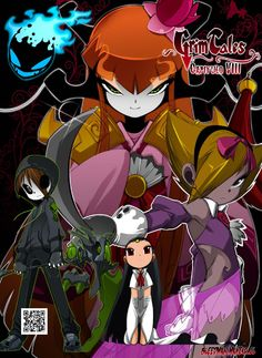 Grim Tales VIII  Visitanos en www.bleedman.maneko.cl