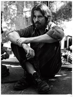 Christian Bale by Mikael Jansson - WSJ Magazine December 2014 Christian Bale, Photo Hacks, Wsj Magazine, Fashion Tape, Men's Fashion, Looks Black, George Clooney, British Actors, British Celebrities