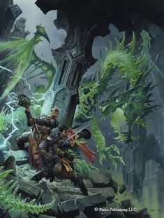 Cover artwork for Pathfinder RPG - Advanced Character Guide