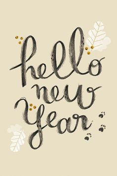 Hello New Year!!