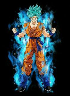 Goku ss god ss #dbs #dragonball