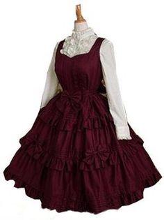 Robe de lolita sweet manches longues