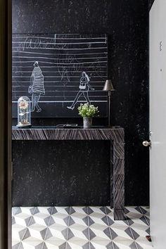 Deko Ideen Flur Ausgefallenes Wanddesign